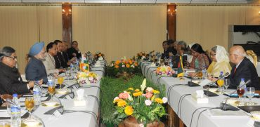 Delegation level talks between India and Bangladesh in Dhaka