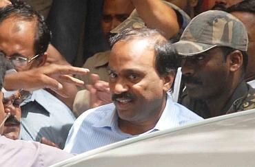 CBI team from Hyderabad arrested Janaradhana Reddy after raiding his residence