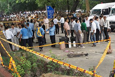 Alert has been sounded across India after the Delhi HC blast