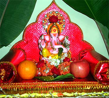 From Mumbai to USA:Readers' PIX of Ganpati