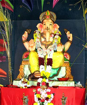 From Mumbai to USA: Readers' PIX of Ganpati