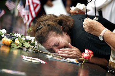 Tears and tributes at Ground Zero