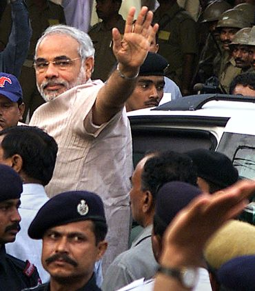 Gujarat CM Narendra Modi has successfully dodged every defamatory missile hurled at him