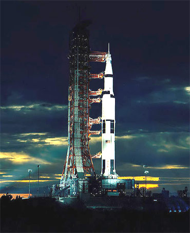 The Saturn V rocket