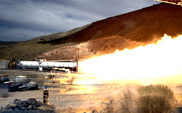 NASA and ATK together designed a new rocket motor