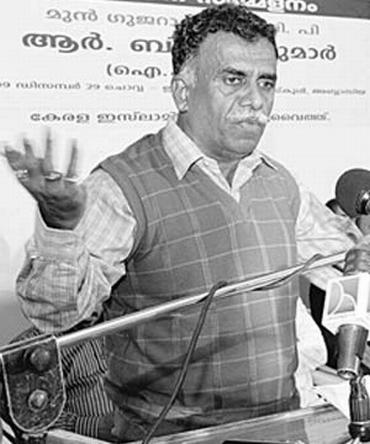 Former Gujarat Intelligence Bureau chief R B Sreekumar