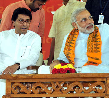 Raj Thackeray meets Narendra Modi