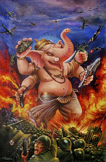 Posted of the Ganesh Versus the Third Reich play