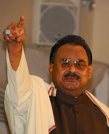 File Photo of Altaf Hussain