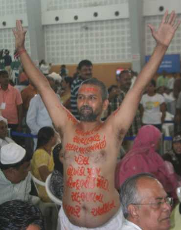 One of Narendra Modi's supporters