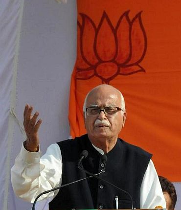 I am not in the race for PM's post: Advani