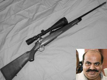 Ruger M-77 Mark-II 30.66 mm (Inset) Atiq Ahmed