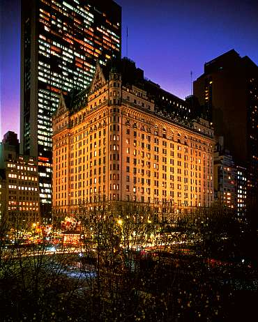 The Plaza Hotel at New York