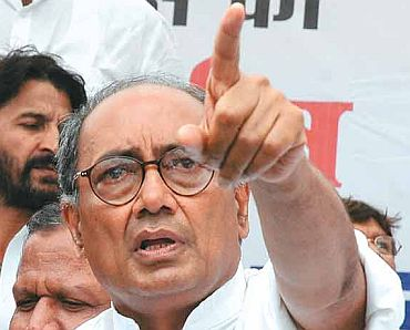 Senior Congress leader Digvijaya Singh