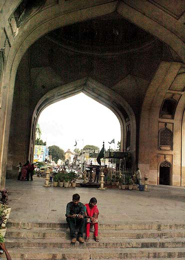 The ongoing stir has heavily hit the tourism industry in Hyderabad as evident in a deserted Charminar on Saturday