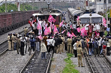 Rail roko protest hit services across the state