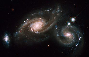A Tale of Three Galaxies