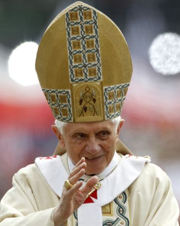 File photo of Pope Benedict XVI