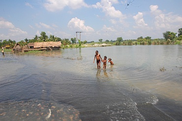 IN PICS: Floods affect 15 lakh people in Bihar