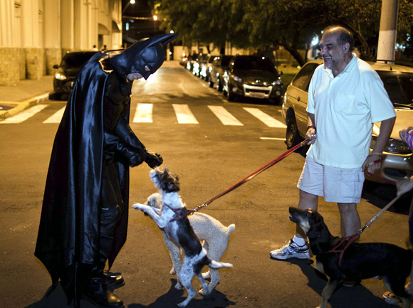 It's not a joke: Brazil hires BATMAN to fight crime!