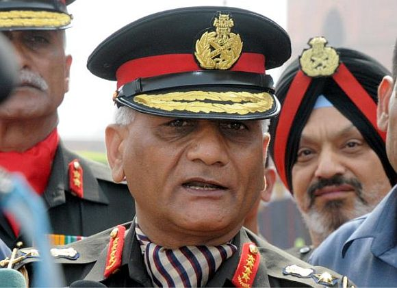 Chief of Army Staff Gen V K Singh