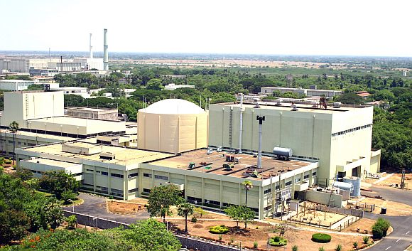 The Kalpakkam nuclear power plant
