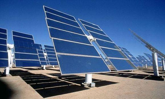A solar power panel