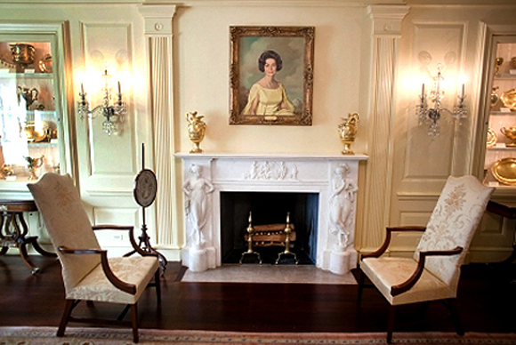 The Vermeil Room of the White House