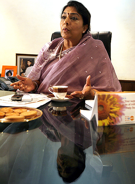 Rajya Sabha MP Renuka Chowdhury has a new target