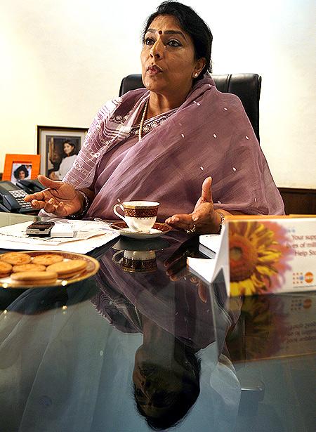 Rajya Sabha MP Renuka Chowdhury has a new target