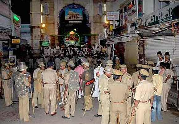 Security has been beefed up in and around the dargah ahead of Zardari's visit