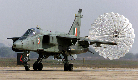 The Indian Air Force's Jaguar fighter aircraft