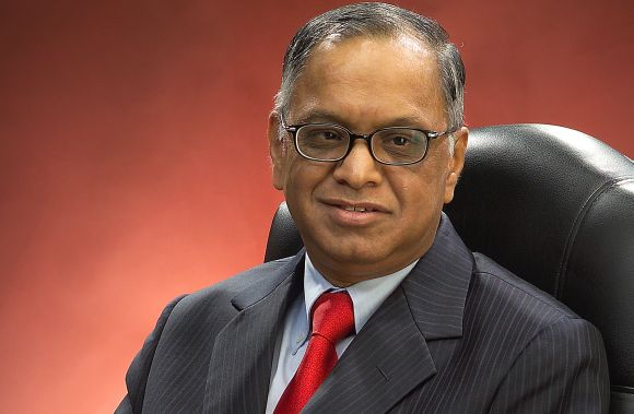 NR Narayana Murthy, co-founder, Infosys