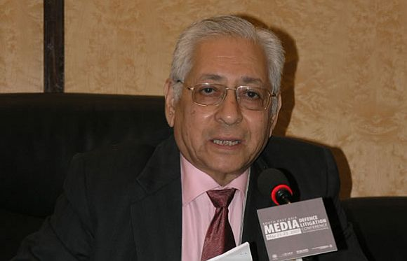 Former attorney general Soli Sorabjee