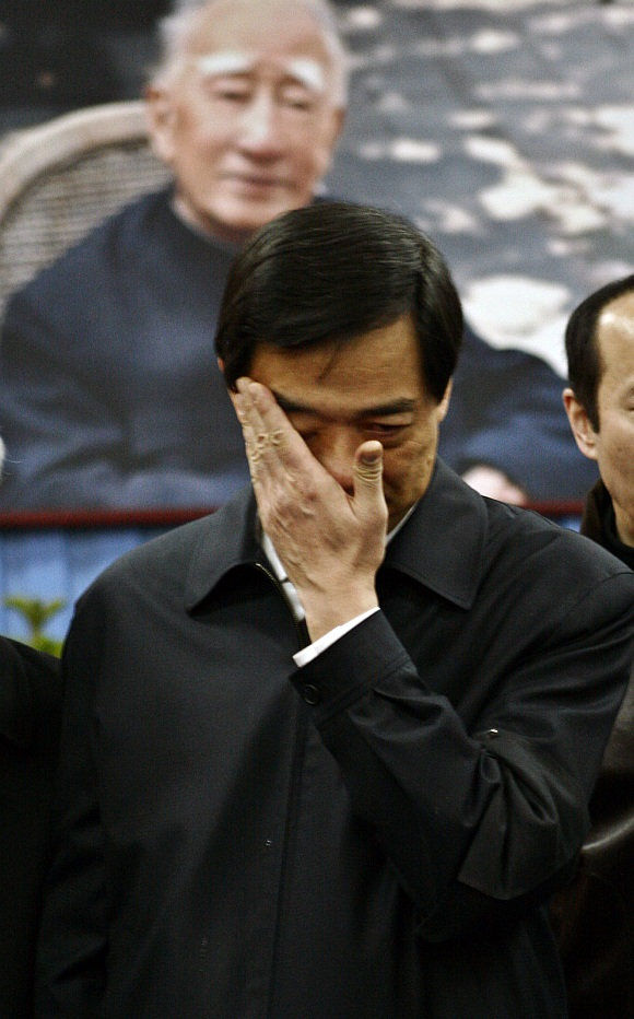 Disgraced former secretary of the Communist Party in Chongqing Bo Xilai