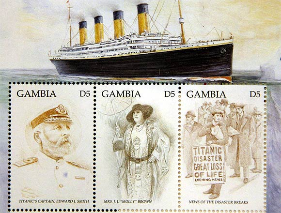 Images: Limited edition Titanic stamps un