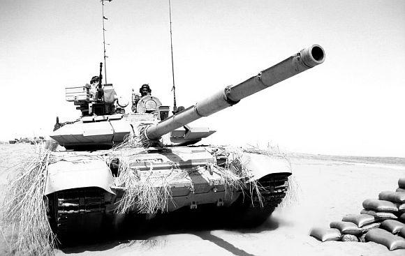 The T-90S tank