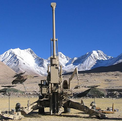 Indian Army's FH-55B Howitzers