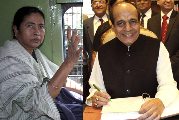 The battle looms: Mamata Banerjee vs Dinesh Trivedi, right