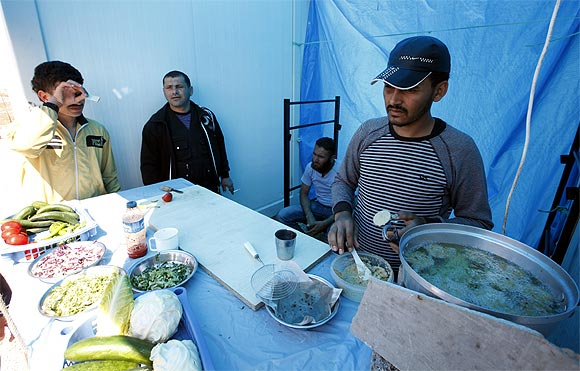 Life inside a refugee camp
