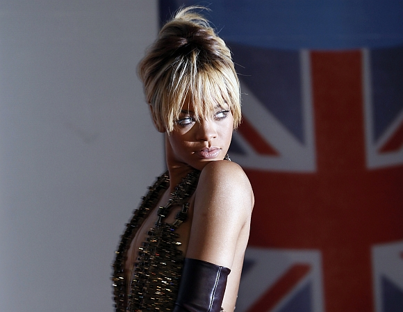 Superstar entertainer Rihanna