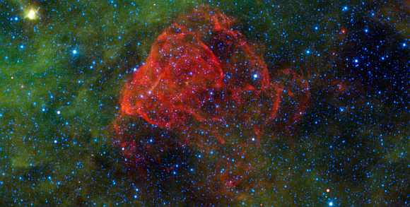 Ancient supernova revealed