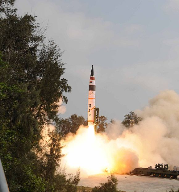 Does Agni-V have 8,000-km range? The Chinese think so