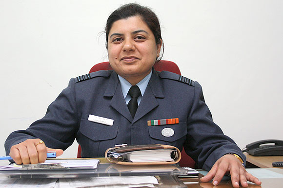 Squadron Leader Sonia Raheja is from the 16th course of lady officers in the IAF