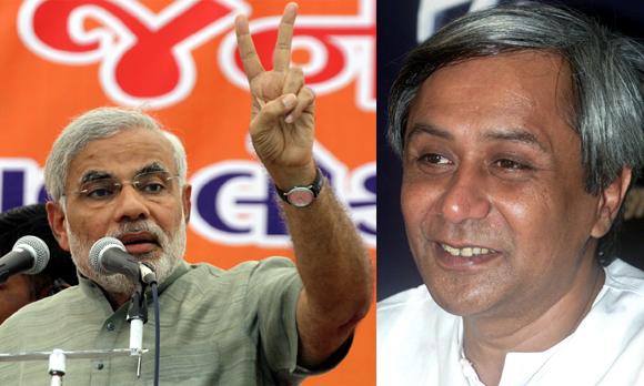 Narendra Modi and Naveen Patnaik
