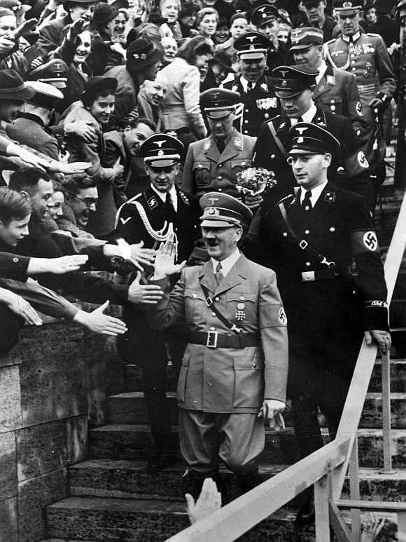 Adolf Hitler rose to power when Germany was enveloped by a deep economic crisis
