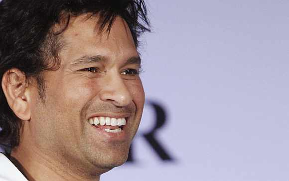 Sachin Tendulkar was scheduled to take oath in the Rajya Sabha on Wednesday