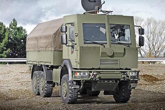 A Tatra truck