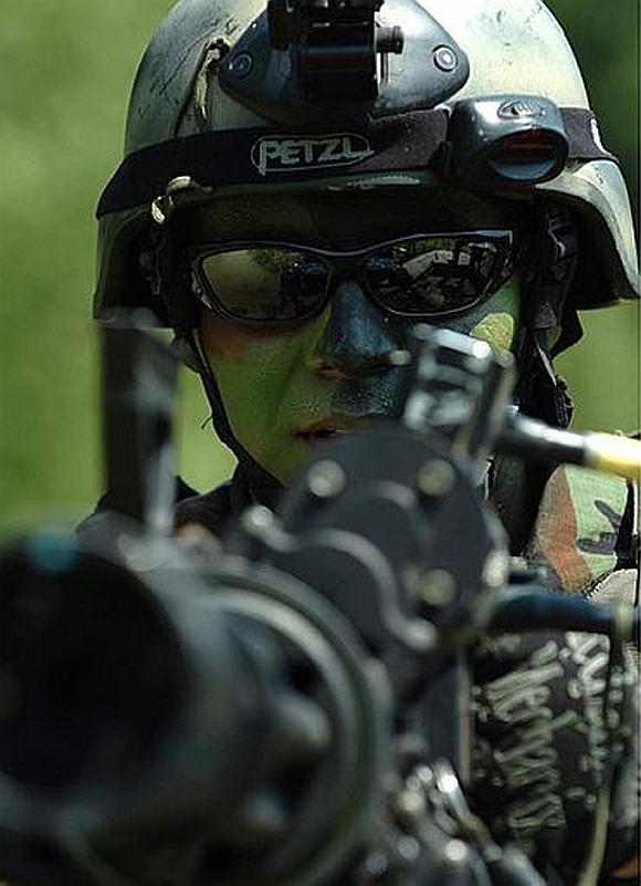 A SEAL team member