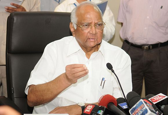 Pawar sets off on yatra to drought-hit states